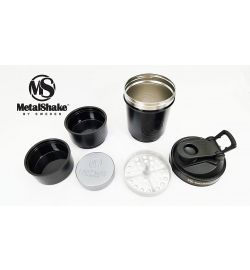 Metalshake Black Steel 600 ML