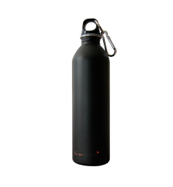 600ml Stainless Steel Bottle Matte Black