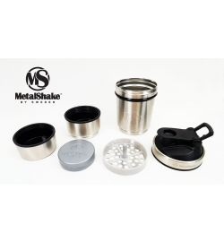 Metalshake Silver Steel 600 ML