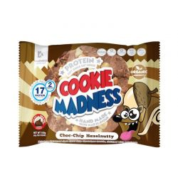 Madness Cookies 12x (2x50gr) Choc-Chip Hazelnutty