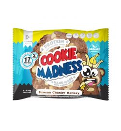 Madness Cookies 12x [2x50gr] Banana Chunky Monkey