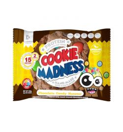 Madness Cookies 12x (2x50gr) Choco Candy Monster