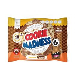 Madness Cookies 12x (2x50gr) Choco Peanut Crunch
