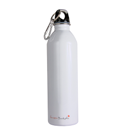 600ml Stainless Steel Bottle White