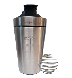 600ml Stainless Steel Protein shaker sports bottle
