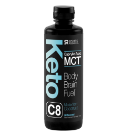 Keto MCT Oil C8 16oz (31 Servings)