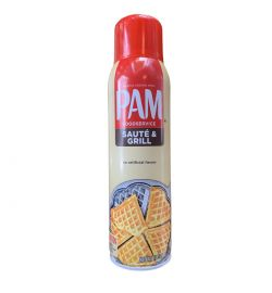 PAM cooking spray Saute & Grill 17oz