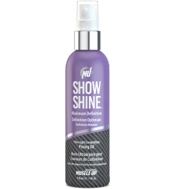 Show Shine UltraLight Competition Posing Oil 4.0oz [118ml]