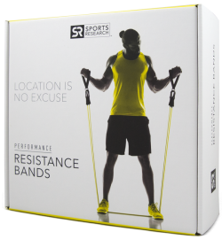 Performance Resistance Bands - Set of 5