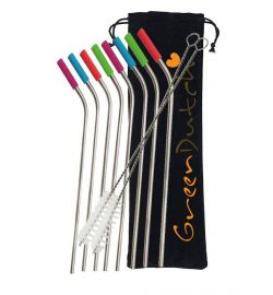 Stainless Steel Straws Combi Pack
